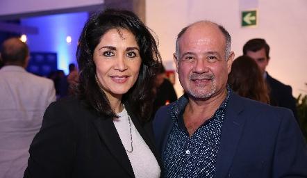 Edith Rodríguez y Javier López .