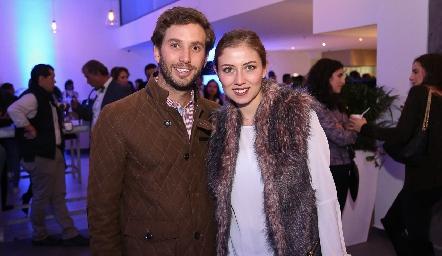 Andrés Torres y Elizabeth Treviño de Torres.