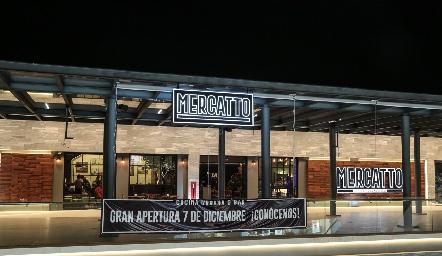 Mercatto Cocina Urbana & Bar, Plaza el Dorado.