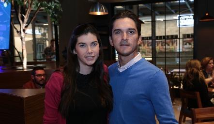 Mariana Palazuelos y Axel Morfín.