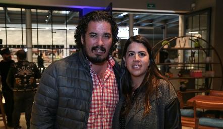 Juan Pablo Meade y Gaby Carrillo.