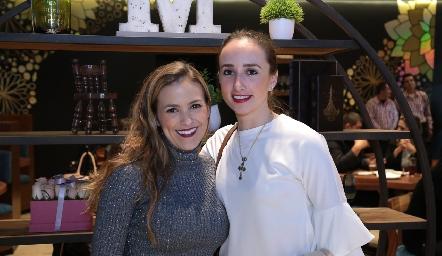 Laura Cadena y Ángeles Mahbub.