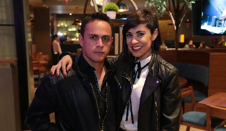 Javier Benavente y Xeima Herrera.
