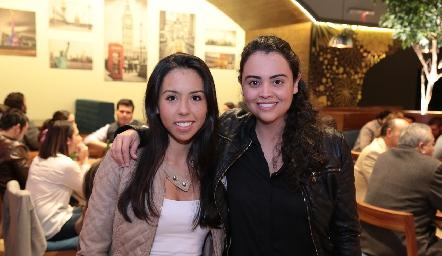 Mariana Carballo y Elvia Ramos.