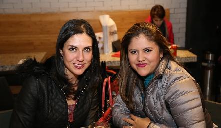 Diana Andrade y Carolina Gutiérrez .