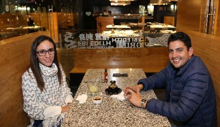 Rosario González y Mario.