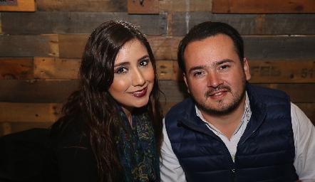 Verónica y Eduardo.