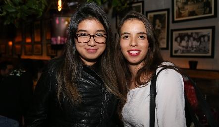 Blanca Luz y Samara Míreles .