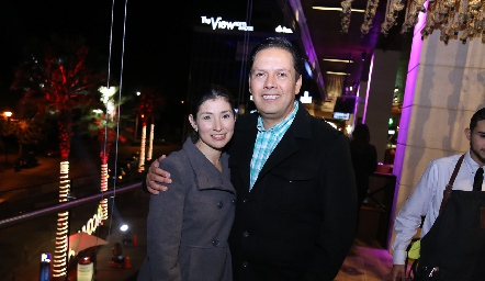 Mónica Ruíz y Jorge Cardona.