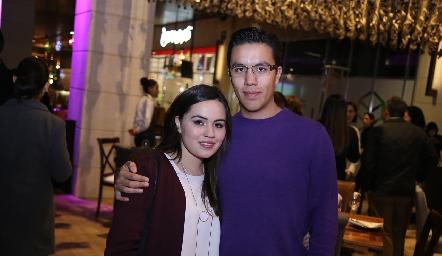 Marian Martínez y Gustavo Hernández.