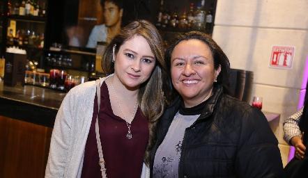 Erika Corzo y Pilar Rodríguez.