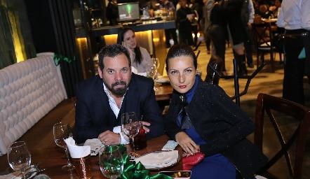 José María Bosh y Luz Rodarte.