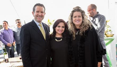 Juan Carlos Rubín de Celis, Laura Rangel y Susana Rubín de Celis.