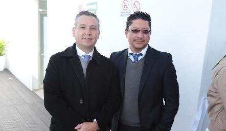Héctor Galán y Juan Manuel García.