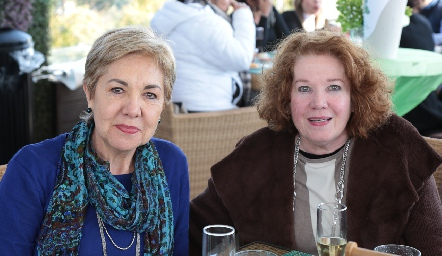 Lourdes Aguiñaga y Liliana Vázquez.