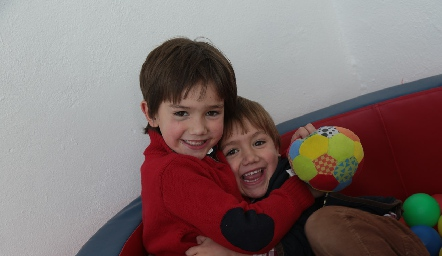 Andrés y Lucas.