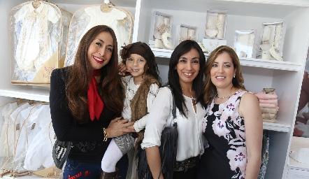 Gabriela Ávila, Marijó, Norma Ávila y Rocío Padilla.