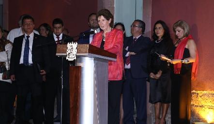 Inauguración del Museo Leonora Carrington.