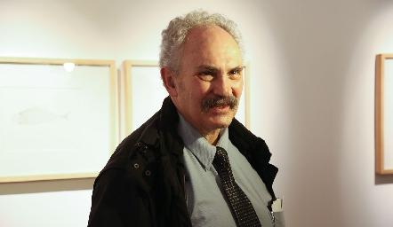Pablo Báez Carrington hijo de Leonora Carrington.