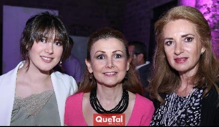 Paulina Villarreal, Gely Cárdenas y Rocío Mexicano.