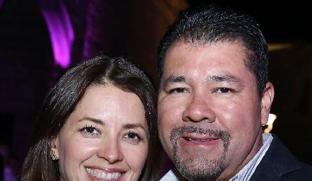 Pilar y Jorge Armendáriz.