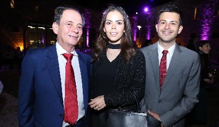 Antonio, Sandra y Antonio García.