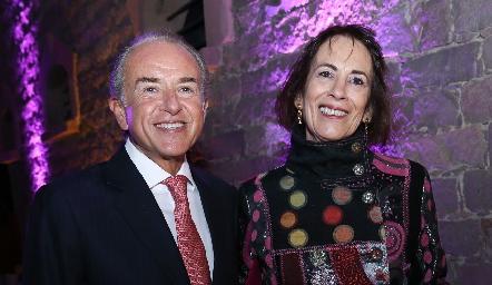 Juan Manuel Carreras y Laura Elena González.