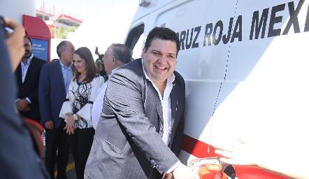 Inauguración de Gasolinera Mobil.