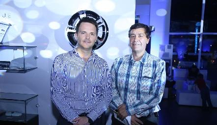 Tito Herrera y Gilberto Alonso.