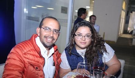 Luis Arturo y Sofía Lara.