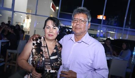 Victoria Díaz y Julián Vargas.