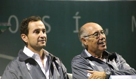 Pato Quijano y Pancho Orozco.