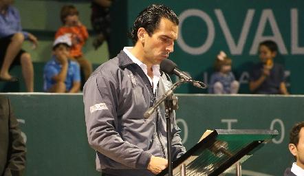 Javier Fernández, Presidente del Consejo de Administración del Club Deportivo Potosino.