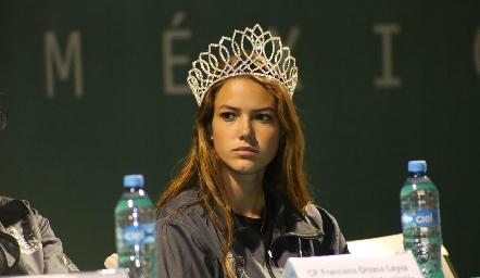 Renata Fernández Benavente, Reina del Club Deportivo Potosino.