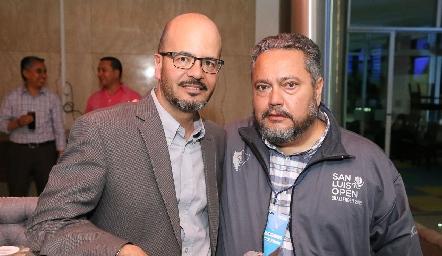 Guillermo Meade y Juan Alberto Martínez.