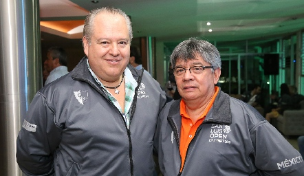 Fulvio Poumian y Ricardo Castro.