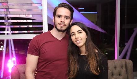 Eduardo Álvarez y Lorena Cuadra.