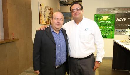 Eduardo Coronel y Raúl Amezcua.
