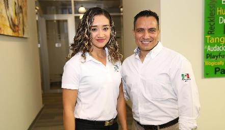Rocío Guerrero e Iván Nuñez.