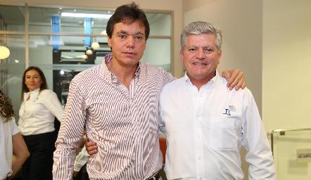 Alejandro Contreras y Fernando Barrios.
