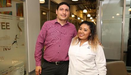 Jorge Luis Pérez y Mary Vega.