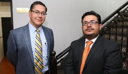 Alfonso Castillo y Huitzi Ortega.