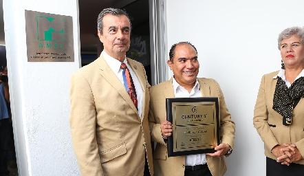 Jorge Coleff y Jesús Leija.