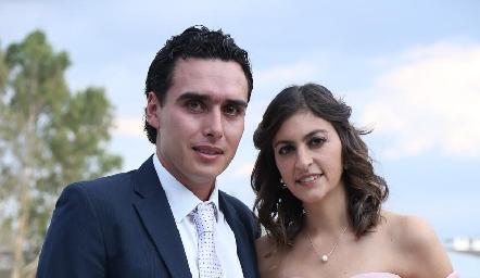 Xavier Azcárate y Paty Gómez.