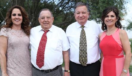 Gabriela Payán, Jacobo Payán, Gabriel Ramírez y Lucía Escobedo.