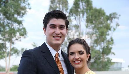 Rafa Martínez y Mimí Siller.
