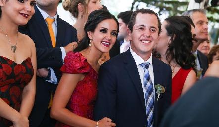 Yolanda y Santiago Aguillón.