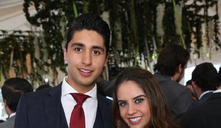 Andrés Tobías y Pía Gómez.