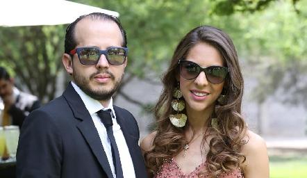 Carlos Arrieta y Rosalba Romo.