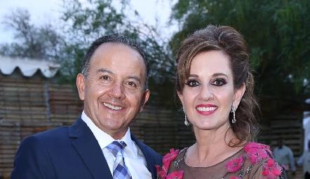 Octavio Aguillón y Yolanda Payán.